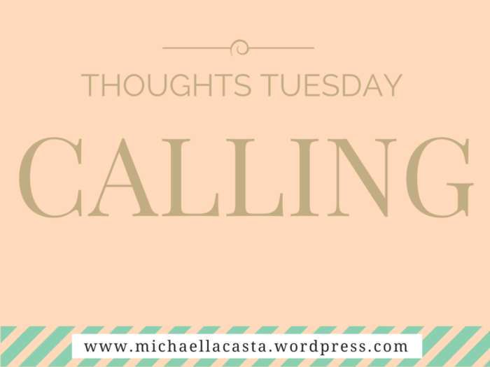 Thoughts Tuesday
